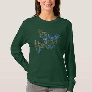 Camisa del universal de la paloma de la paz
