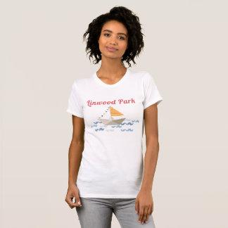 Camisa del velero del parque de Linwood
