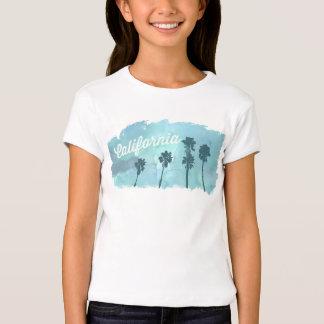 Camisa del vintage del girlie de California