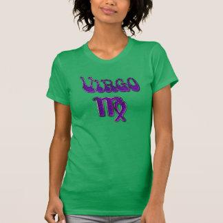 Camisa del virgo de las señoras en púrpura en