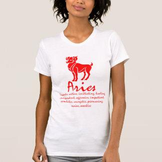 Camisa del zodiaco del aries