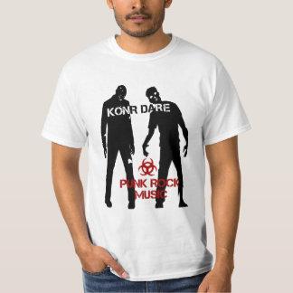 Camisa del zombi del atrevimiento de Konr