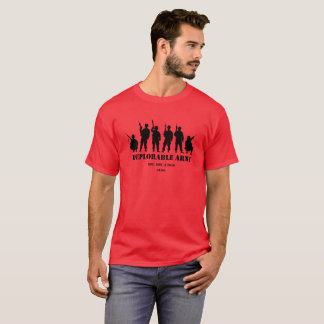 Camisa deplorable del ejército del triunfo