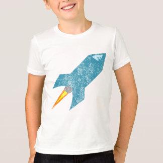 Camisa descolorada de Rocket retro