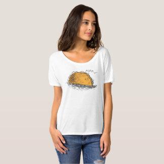 Camisa desgarbada del novio del Taco contrariedad