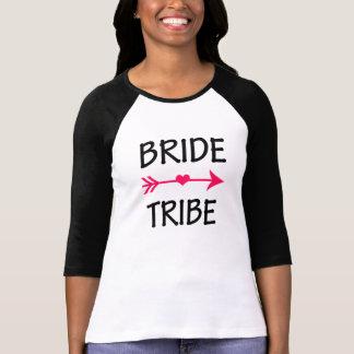 Camisa divertida de las damas de honor de la tribu