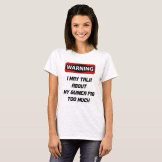 Camisa divertida del conejillo de Indias