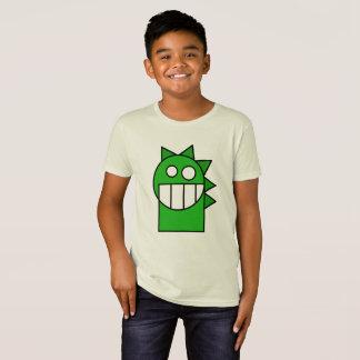 Camisa divertida del dragón del dibujo animado