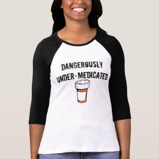 Camisa divertida del lema para la gente loca