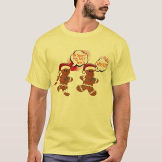 camisa divertida del navidad de la galleta rápida