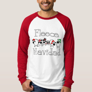 Camisa divertida del navidad de Navidad del paño
