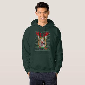 camisa divertida del regalo del navidad del reno