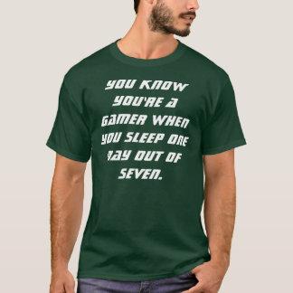 Camisa el dormir del videojugador
