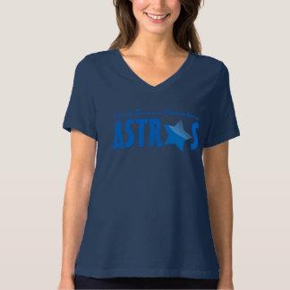 Camisa elemental del Stat Astros del azul de Frank