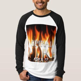 Camisa espiral de la FAN del fuego