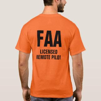 Camisa experimental alejada autorizada FAA