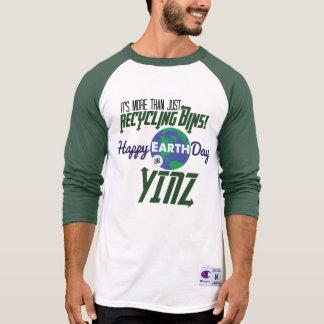 Camisa feliz del béisbol de Yinz del Día de la