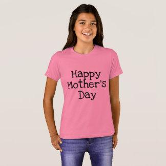 Camisa feliz del día de madres