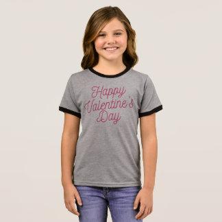 Camisa feliz rosada del campanero del el día de