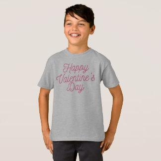 Camisa feliz rosada del el día de San Valentín el