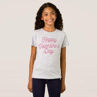 Camisa feliz rosada del jersey del el día de San