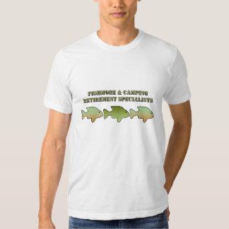 Camisa, Fishmore y el acampar de los especialistas Camisetas