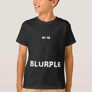 Camisa flotante de los ojos de Blurple