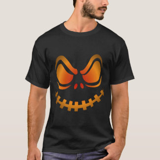 Camisa fresca de Halloween de la calabaza que