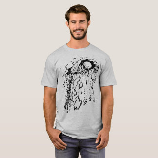 Camisa fresca del desplome del zombi