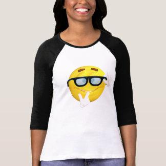 Camisa fresca del raglán de Emoji