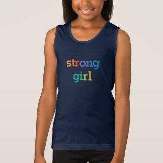 Camisa fuerte del chica