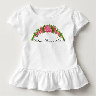 Camisa futura adorable del florista