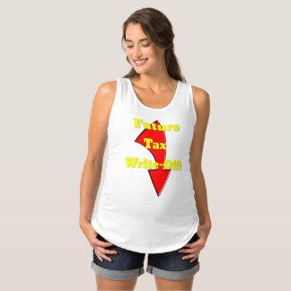 Camisa futura de la maternidad de la amortización