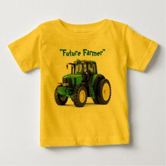 Camisa futura del bebé del granjero
