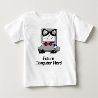 Camisa futura del friki del empollón del ordenador