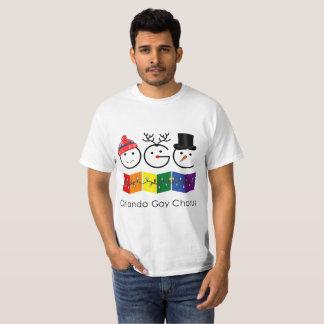 Camisa gay del día de fiesta del estribillo de