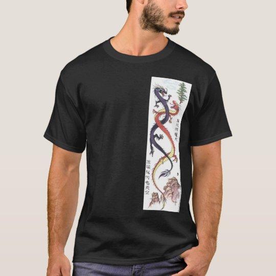 Camisa gemela de los dragones