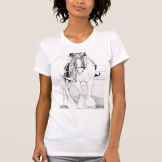 Camisa gitana de Vanner del ~ del Hola-Punto