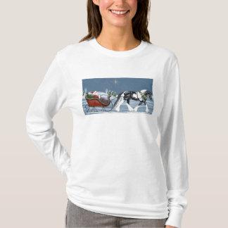 Camisa gitana del navidad de Vanner y de Papá Noel