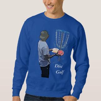Camisa Golfing del disco azul