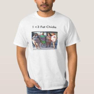 Camisa gorda de los polluelos I <3 [NUEVA]