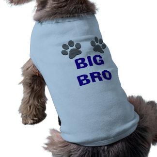 Camisa GRANDE adaptable del perro de BRO para los