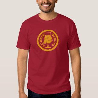 Camisa grande de los exploradores de la cerveza