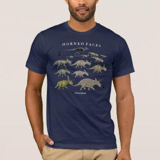 Camisa Gregory Paul de Ceratopsida del dinosaurio