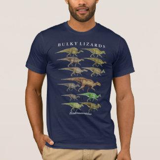 Camisa Gregory Paul del dinosaurio del hadrosaur