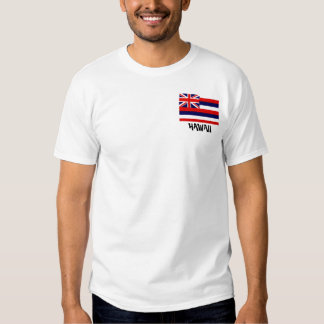 Camisa hawaiana de la bandera