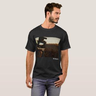 Camisa hawaiana de la puesta del sol de Gopro