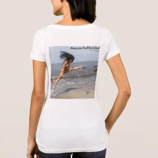 Camisa impresionante de la isla de la diosa