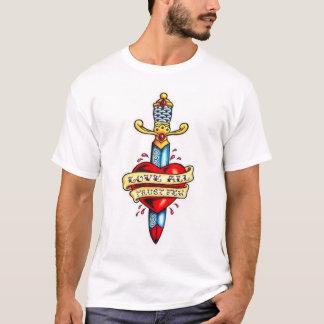 Camisa inmaculada del corazón - diseño grande