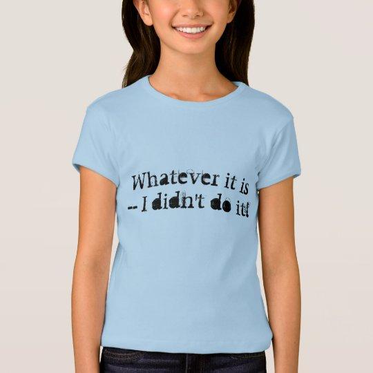 Camisa inocente